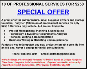 Professional Services Offer - square